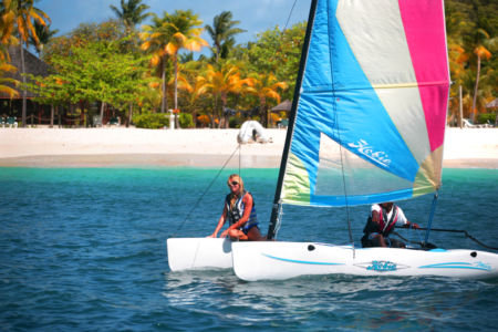 Palm Island Hobie Cat